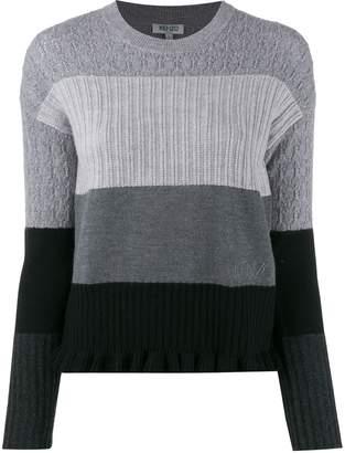 Kenzo multi-knit jumper