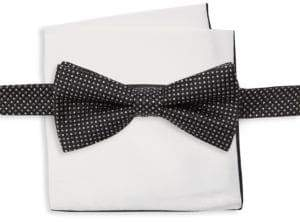 Burma Bibas Two-Piece Bow Tie & Square Set