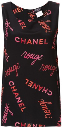 Chanel Pre-Owned sleeveless top