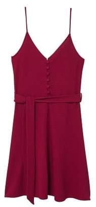 MANGO Bow knitted dress