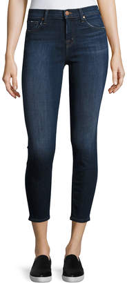J Brand Mid-Rise Skinny Capri Jeans, Scout
