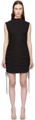 Alexander Wang Black Ruched Dress