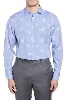 John W. Nordstrom R) Traditional Fit Paisley Dress Shirt
