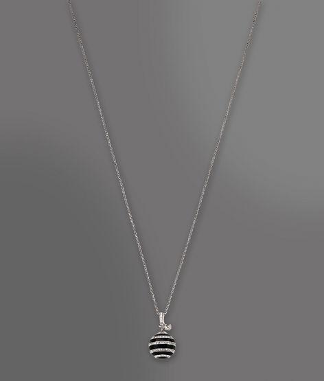 Emporio Armani Necklace In Steel, Resin And Crystals