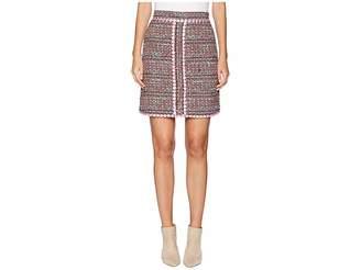 Moschino Tweed Mini Skirt