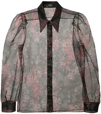 Jill Stuart Isabelli sheer blouse
