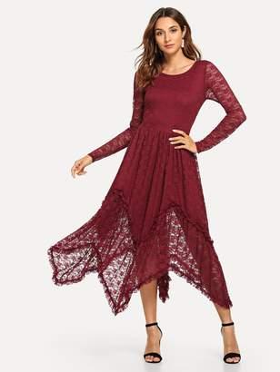 4baa65d9a1 Shein Long Sleeve Dresses - ShopStyle