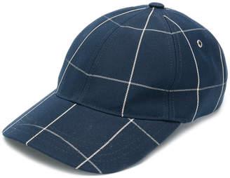 A.P.C. checked cap