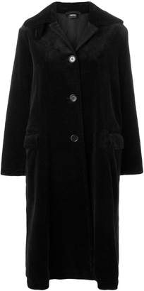 Aspesi single-breasted corduroy coat