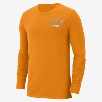 Nike College Elevated Essentials (Michigan) Men's Long Sleeve Top