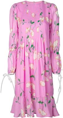 Cynthia Rowley Kyoto pintuck dress