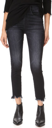 3x1 W3 Straight Authentic Crop Jeans