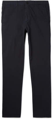 Dunhill Slim-Fit Stretch-Cotton Poplin Chinos