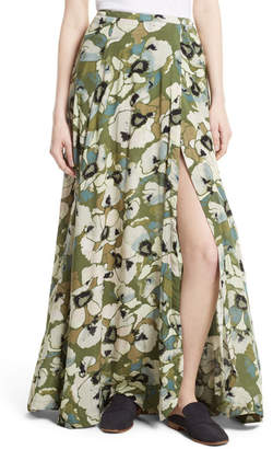 Free People Hot Tropics Maxi Skirt $128 thestylecure.com