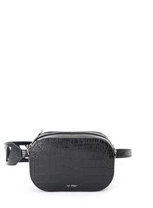 Off-White Cocco Stamped Leather Camera Bag