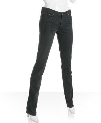 Anlo charcoal stretch 'Jules' skinny leg jeans