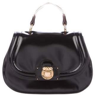 Marc Jacobs Large Smooth Leather Saddle Bag