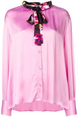 MSGM satin blouse