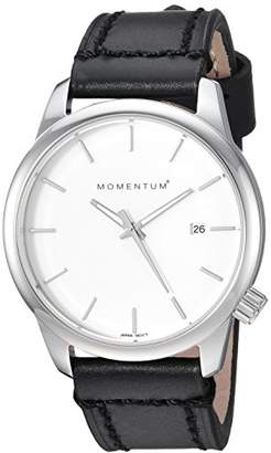 Momentum Women's 'Logic 36' Quartz Stainless Steel and Leather Fashion Watch
