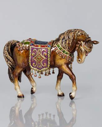 Jay Strongwater Nativity Horse Figurine