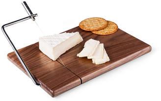 Picnic Time Meridian Black Walnut Cutting Board & Cheese Slicer