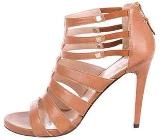 Stuart Weitzman Crissjones Leather Sandals
