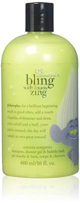 philosophy Trolls Guy Diamond's bling with lemon zing! Shampoo