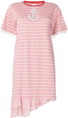 Pinko striped T-shirt dress