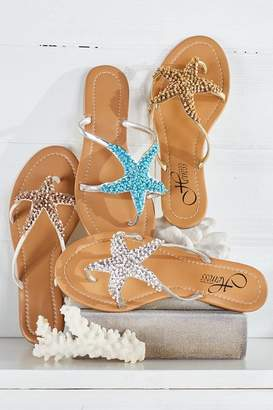Soft Surroundings Sealife Sandals