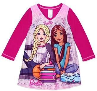Barbie Little Girls' L/S Nightgown