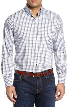 Peter Millar Regular Fit Crisp Pane Sport Shirt