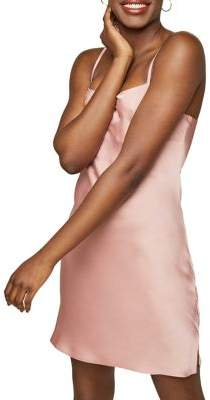 Miss Selfridge Satin Mini Slip Dress
