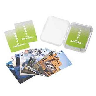 Kathmandu Travel Camping Waterproof Playing Cards with Outdoor Tips
