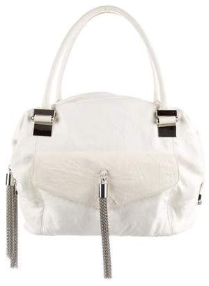Thomas Wylde Leather Chain-Link Tassel Bag