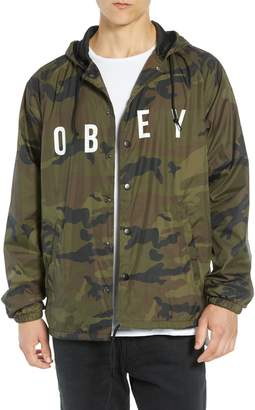 Obey Anyway Coach's Jacket