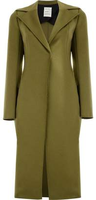Maison Rabih Kayrouz formal wide-lapeled coat