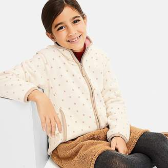 Uniqlo Girl's Printed Fleece Long-sleeve Jacket