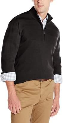Cutter & Buck Men's Douglas Quarter Zip Sweater