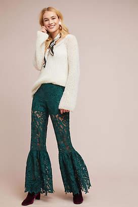 Anna Sui Baroque Lace Pants