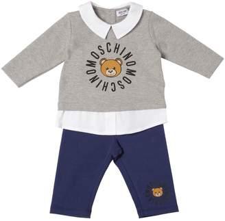 Moschino Cotton Sweatshirt & Leggings