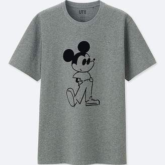 Uniqlo Mickey Art Short-sleeve Graphic T-Shirt (yu Nagaba)