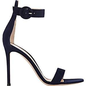 Gianvito Rossi Women's Portofino Ankle-Strap Sandals - Denim