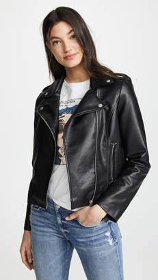 BB Dakota Beverly Thrills Faux Leather Jacket