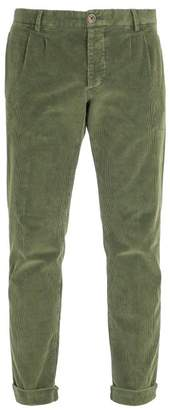J.w. Brine - New Marshall Stretch Corduroy Trousers - Mens - Green