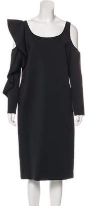 David Koma Long Sleeve Midi Dress w/ Tags