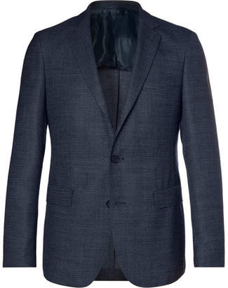 HUGO BOSS Navy Roan Wool-Blend Blazer
