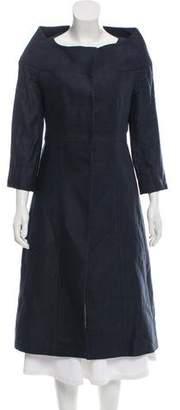 Martin Grant Linen Long Coat