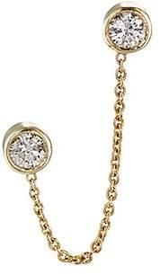 Jennifer Meyer Women's Diamond Bezel Double-Stud Earring