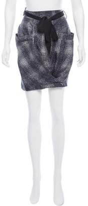 Won Hundred Printed Mini Skirt