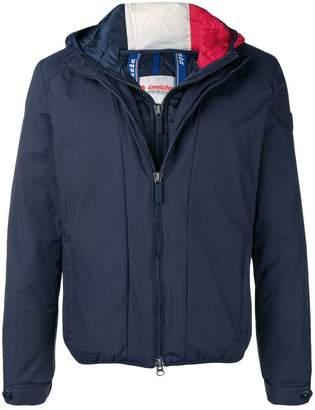 Invicta layered padded jacket
